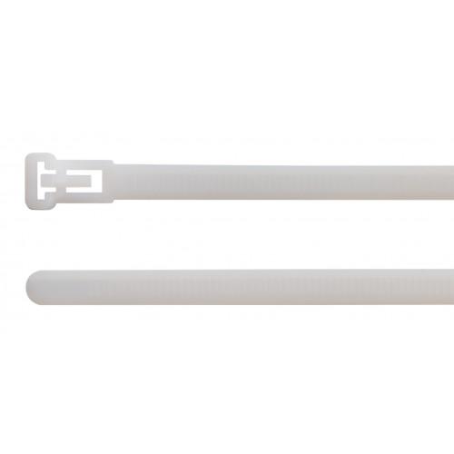 Opaski kablowe wielokrotnego użytku naturalne 100szt. BM Group seria BR