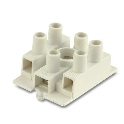 Złączki elektryczne z nylonu trójbiegunowe 3P do bezpośredniego uziemienia 1000szt. BM Group BMM096