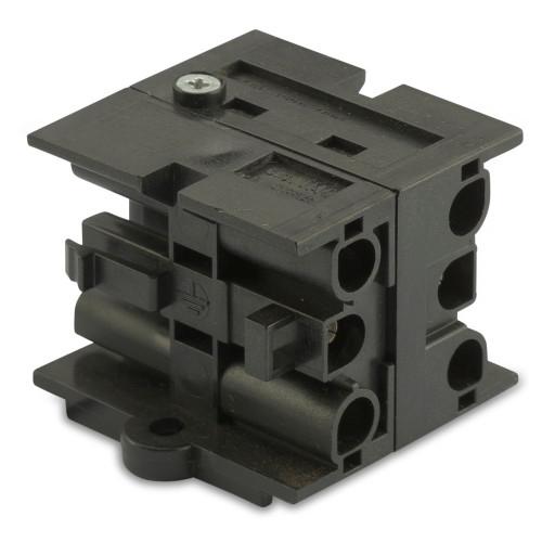 Blok rozdzielczy 3-biegunowy 1 wejście, trzy wyjścia 10szt. do serii M903 BM Group BMM9039