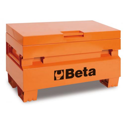 Skrzynia narzędziowa z blachy stalowej długa pusta Beta 2200/C22PL/O