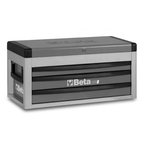 Skrzynia narzędziowa z trzema szufladami C22S z zestawem 108 narzędzi Beta 2200S-G/VUM