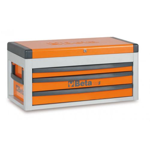Skrzynia narzędziowa z trzema szufladami C22S z zestawem 108 narzędzi Beta 2200S-O/VUM