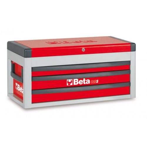 Skrzynia narzędziowa z trzema szufladami C22S z zestawem 108 narzędzi Beta 2200S-R/VUM