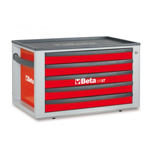 Skrzynia narzędziowa C23ST z zestawem 76 narzędzi Beta 2300ST-R/VG1M