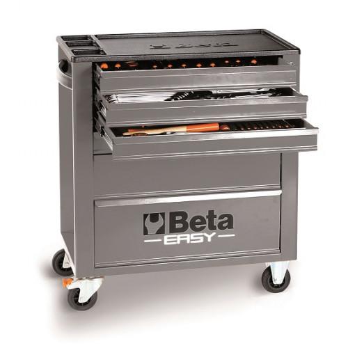 Wózek narzędziowy z zestawem 215 narzędzi Beta 2400E6/M7/G