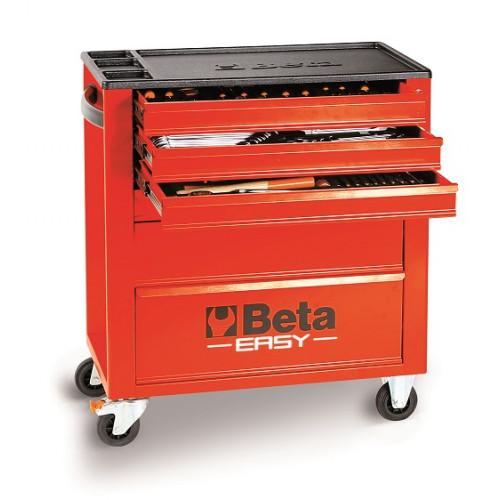 Wózek narzędziowy z zestawem 215 narzędzi Beta 2400E6/M7/R