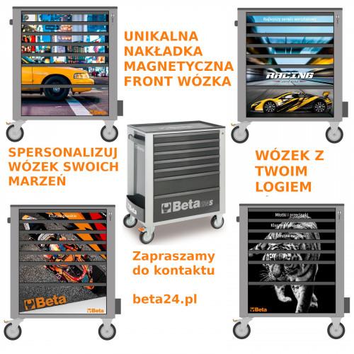 Wózek narzędziowy z 7 szufladami Beta 2400/C24S7G