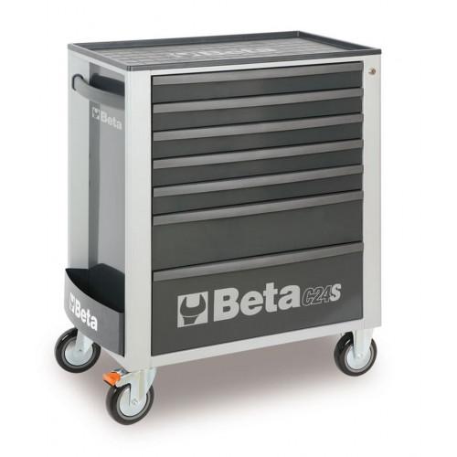 Wózek narzędziowy z 7 szufladami C24S7 z zestawem 227 narzędzi Beta 2400S7/UT4M/G