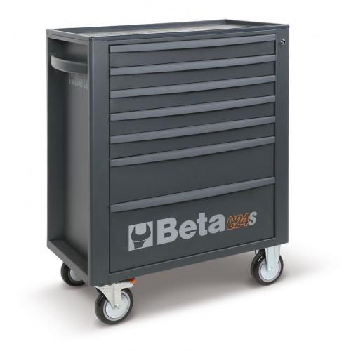 Wózek narzędziowy z 7 szufladami antracytowy Beta 2400/C24S7-M