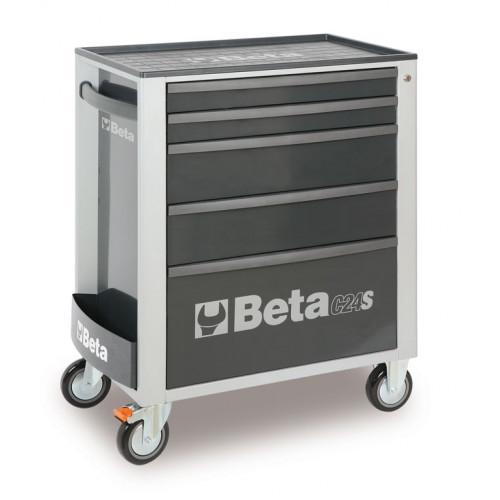 Wózek narzędziowy C24S5 z zestawem 91 narzędzi Beta 2400S5-G/VU1M