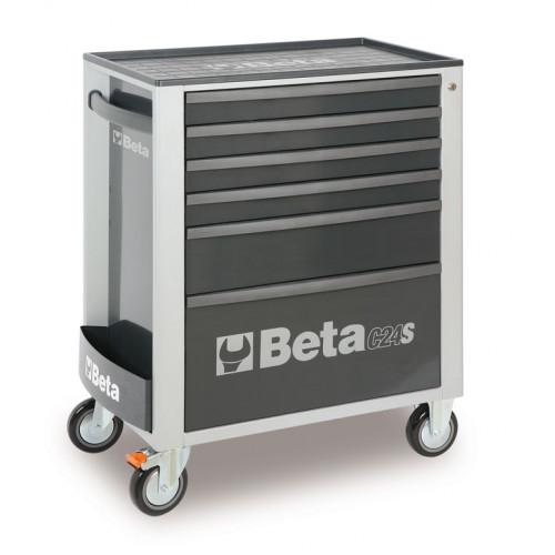 Wózek narzędziowy C24S5 z zestawem 98 narzędzi Beta 2400S6-G/VI1T