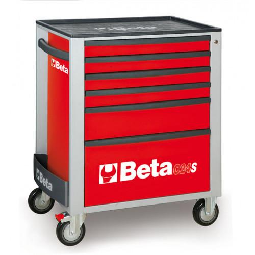 Wózek narzędziowy C24S5 z zestawem 99 narzędzi Beta 2400S6-R/VG2T