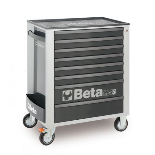 Wózek narzędziowy C24S8 z zestawem 142 narzędzi Beta 2400S8-G/VI3T
