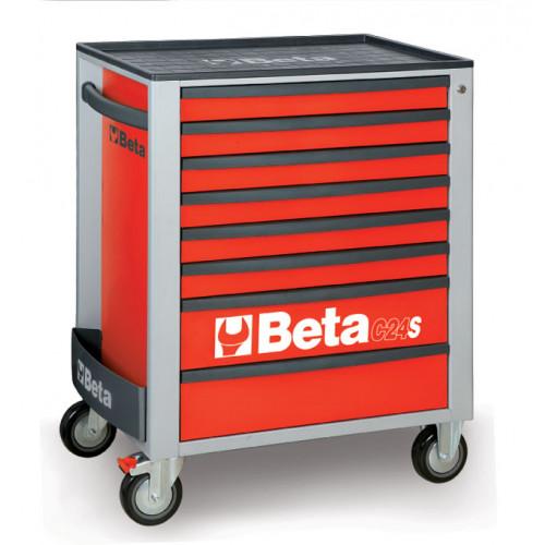 Wózek narzędziowy C24S8 z zestawem 153 narzędzi Beta 2400S8-R/VG5T