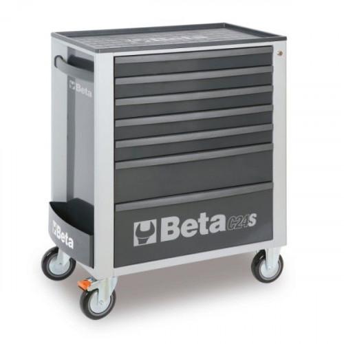 Wózek narzędziowy szary z zestawem 274 narzędzi Beta 2400S7/TRUCK/G