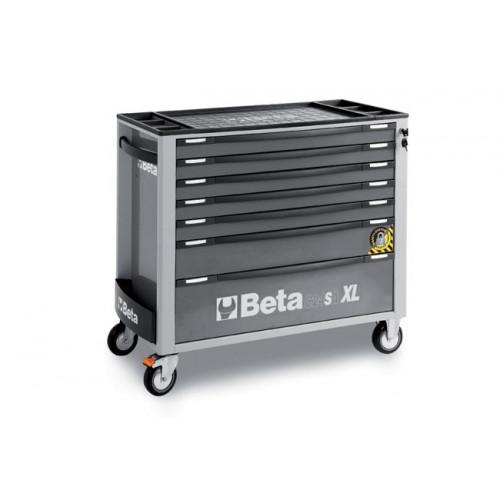 Wózek narzędziowy z 7 szufladami z systemem zabezpieczającym przed przewróceniem Beta 2400/C24SA-XL7/G