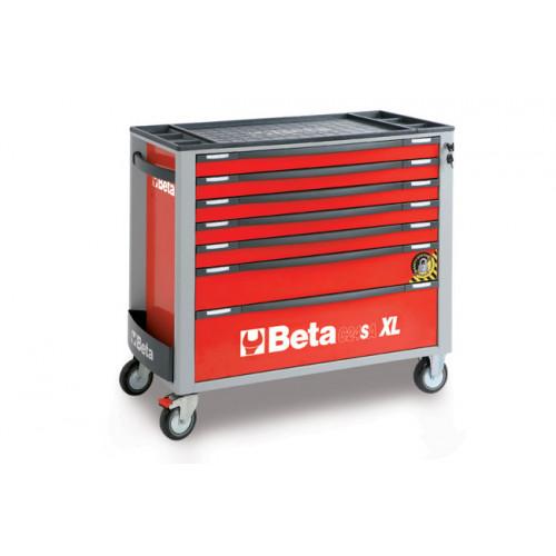 Wózek narzędziowy z 7 szufladami z systemem zabezpieczającym przed przewróceniem Beta 2400/C24SA-XL7/R