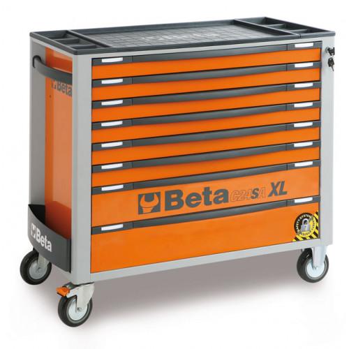 Wózek narzędziowy z 8 szufladami z systemem zabezpieczającym przed przewróceniem Beta 2400/C24SAXL8/O