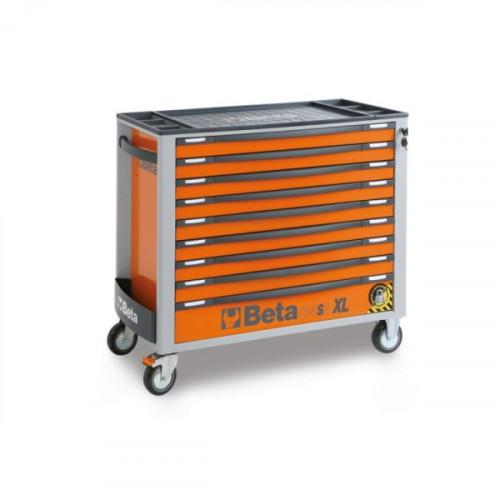 Wózek narzędziowy z 9 szufladami z systemem zabezpieczającym przed przewróceniem Beta 2400/C24SAXL/9-O