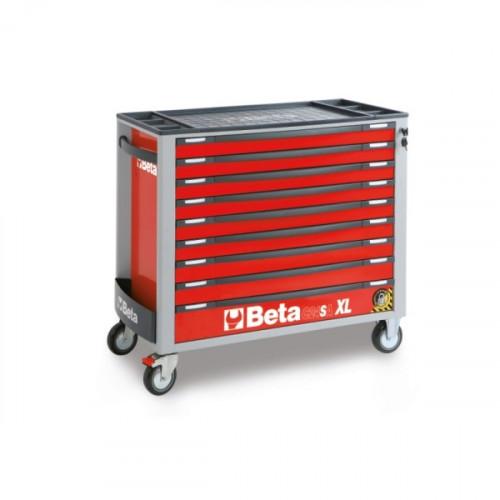 Wózek narzędziowy z 9 szufladami z systemem zabezpieczającym przed przewróceniem Beta 2400/C24SAXL/9-R