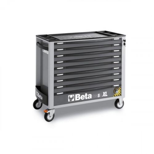 Wózek narzędziowy z 9 szufladami z systemem zabezpieczającym przed przewróceniem Beta 2400/C24SAXL/9-G