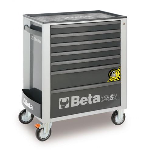 Wózek narzędziowy C24SA7 z zestawem 132 narzędzi Beta 2400SA7-G/VG3
