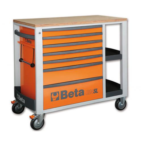 Wózek narzędziowy C24SL z zestawem 151 narzędzi Beta 2400SL-O/VI2T