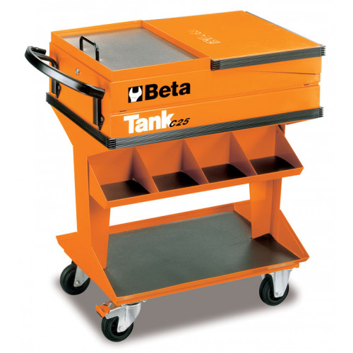 Wózek narzędziowy C25 z zestawem 107 narzędzi Beta 2500/VI