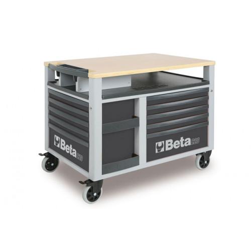 Wózek narzędziowy SuperTank z 10 szufladami Beta 2800/C28G