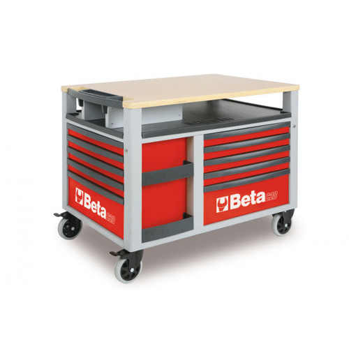 Wózek narzędziowy SuperTank z 10 szufladami Beta 2800/C28R