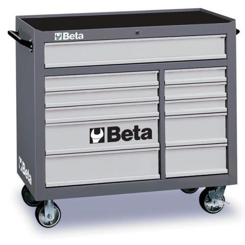 Wózek narzędziowy z 11 szufladami Beta C38G