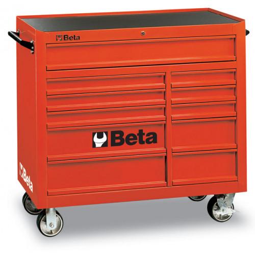 Wózek narzędziowy z 11 szufladami Beta C38R