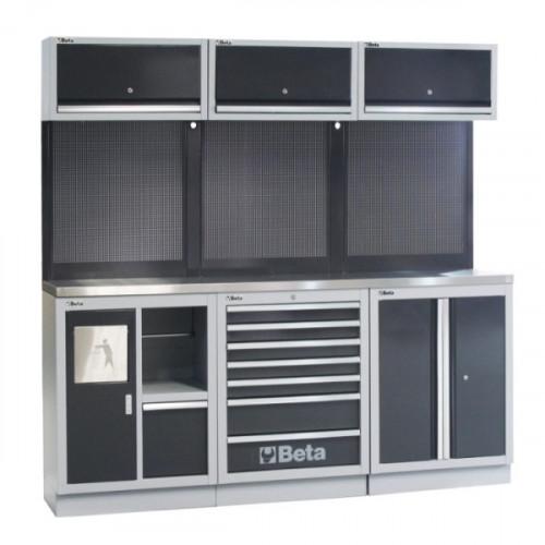 Zestaw mebli warsztatowych system C45 Beta 4500/C45/AX