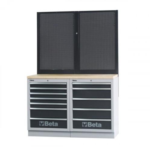 Zestaw mebli warsztatowych systemu C45 Beta 4500/C45/BPW-1.3