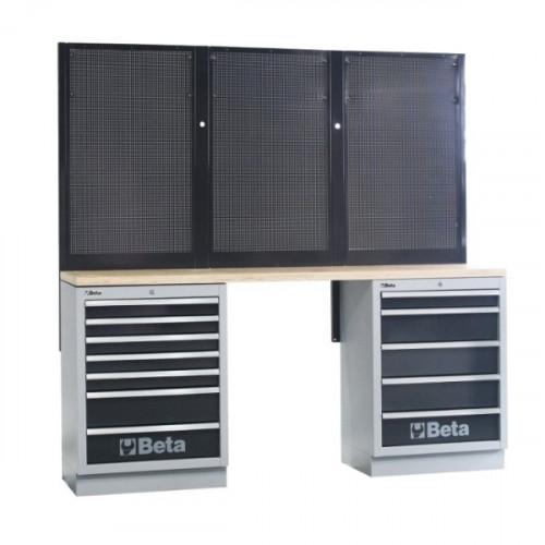 Zestaw mebli warsztatowych systemu C45 Beta 4500/C45/BPW-2.0