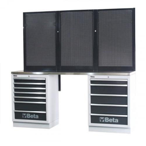 Zestaw mebli warsztatowych systemu C45 Beta 4500/C45/BPX-2.0