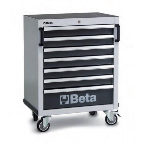 Wózek narzędziowy pusty z 7 szufladami Beta 4500/C45C7