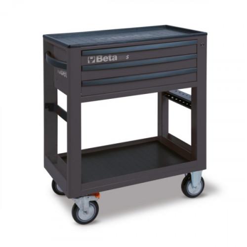 Wózek narzędziowy bez wyposażenia z 3 szufladami Beta C50S-G