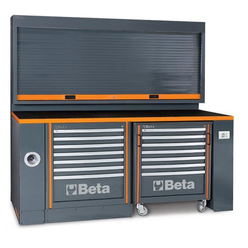 Zestaw mebli warsztatowych systemu RSC55 bez wyposażenia Beta 5500/C55PB-PRO/5