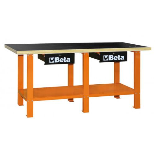 Stół warsztatowy z drewnianym blatem Beta 5600/C56WO