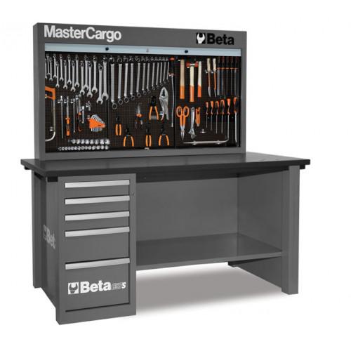 Stół warsztatowy C57SA/G z zestawem 165 narzędzi Beta 5700AG/VI