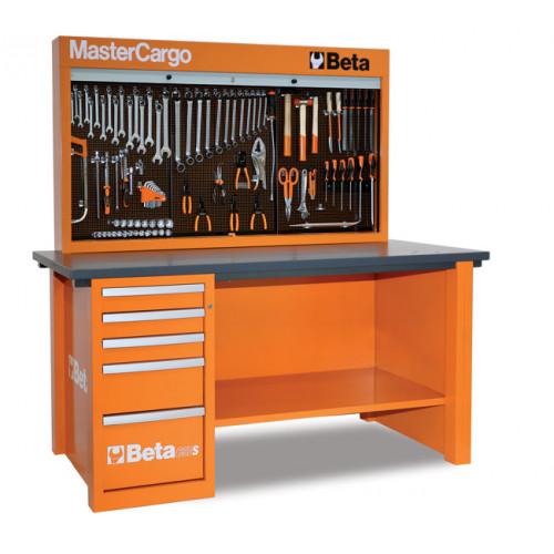 Stół warsztatowy C57SA/O z zestawem 189 narzędzi Beta 5700AO/VG