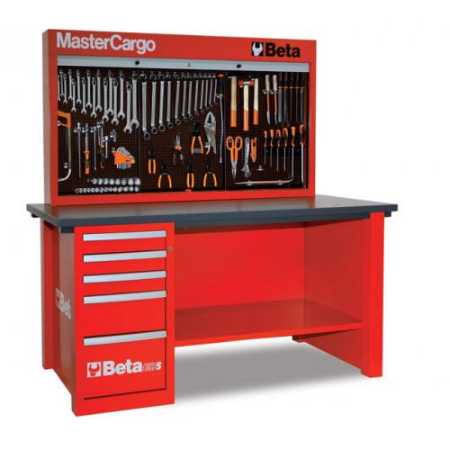 Stół warsztatowy C57SA/R z zestawem 189 narzędzi Beta 5700AR/VG
