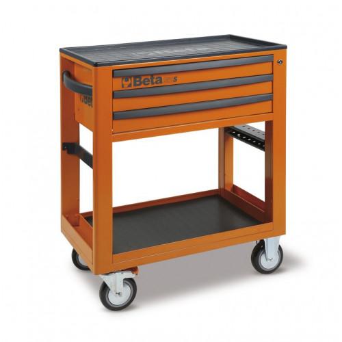 Wózek narzędziowy bez wyposażenia z 3 szufladami Beta C50S-O