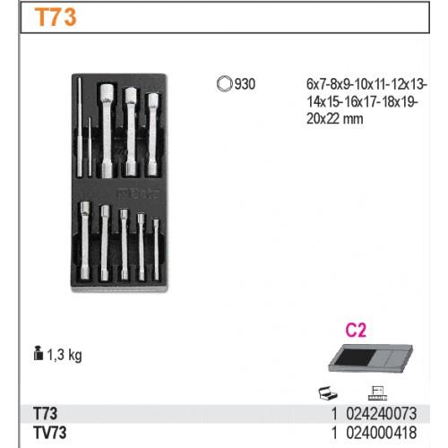 Wkładka na narzędzia z tworzywa do T73