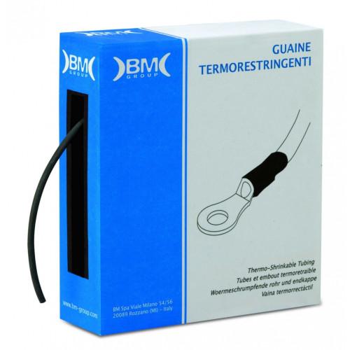 Rurki termokurczliwe w pudełku 5m kurczliwość 2:1 BM Group GBS190M - średnica: 19mm