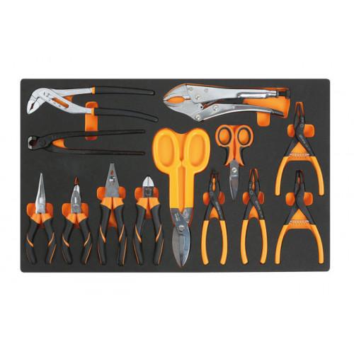 Zestaw 13 narzędzi w miękkim wkładzie Beta 2450/M130