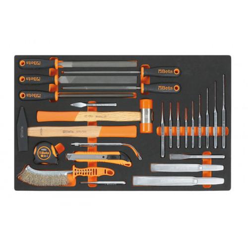 Zestaw 25 narzędzi we wkładzie miękkim Beta 2450/M230