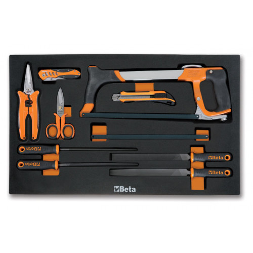 Zestaw 9 narzędzi w miękkim wkładzie Beta 2450/M287