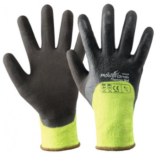 Bezszwowe rękawice POWERGRAB® THERMO 3/4 akrylowo-poliestrowe pokryte lateksem Beta 355127